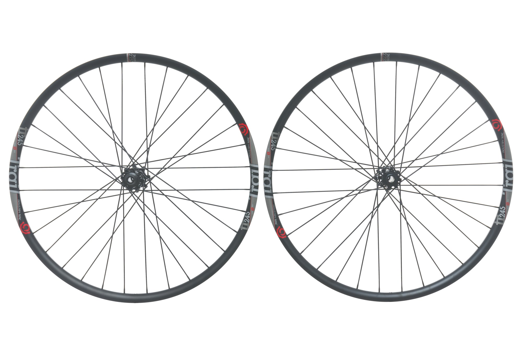 "Industry Nine Trail 245 Aluminum Tubeless 27.5"" Wheelset"