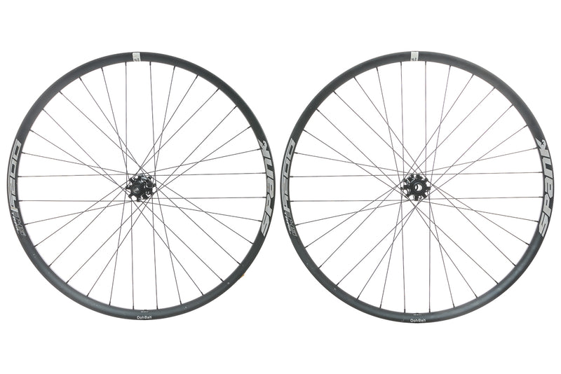 "Spank Oozy 345 Trail Aluminum Tubeless 29"" Wheelset drive side"