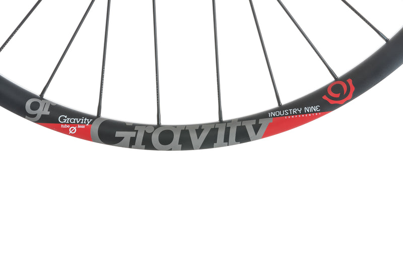 "Industry Nine Gravity Aluminum Tubeless 29"" Rear Wheel cockpit"