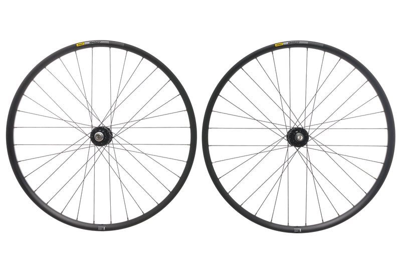 "Mavic EN 627 Aluminum Tubeless 29"" Wheelset drive side"