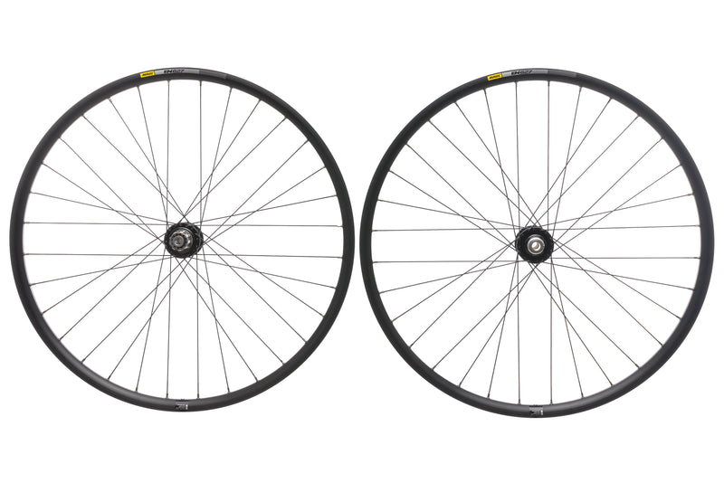 "Mavic EN 627 Aluminum Tubeless 29"" Wheelset non-drive side"