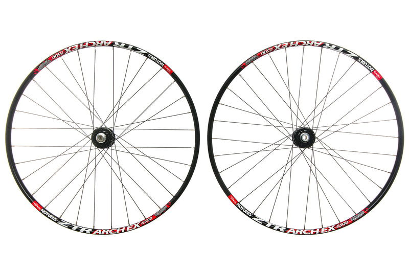 "Stan's No Tubes Arch EX Alloy Tubeless 27.5"" Wheelset drive side"
