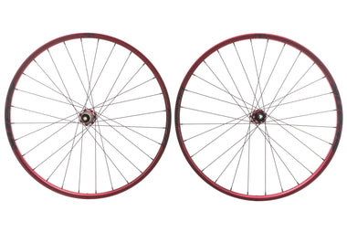 "Spank Oozy Trail 260 Evo Tubeless 27.5"" Wheelset Red"