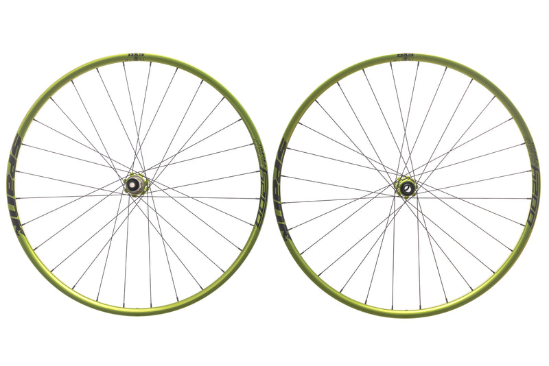 "Spank Oozy Trail 260 Evo Tubeless 29"" Wheelset Emerald Green non-drive side"
