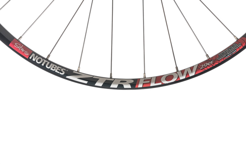 "Stan's No Tubes ZTR Flow Aluminum Tubeless 29"" Front Wheel front wheel"
