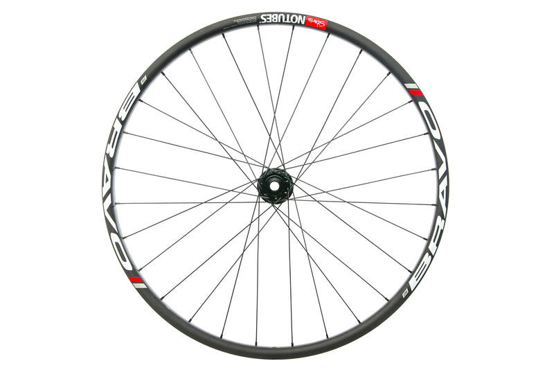 "Stan's NoTubes ZTR Bravo Carbon Tubeless 27.5"" Front Wheel drive side"