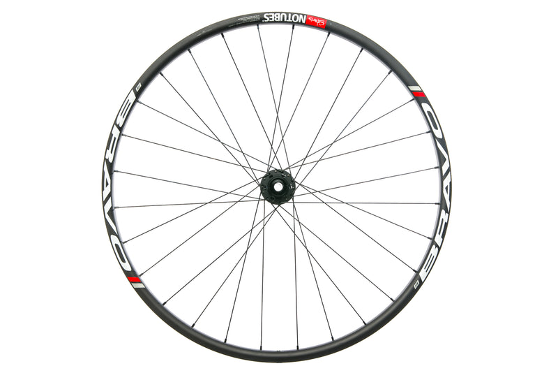 "Stan's NoTubes ZTR Bravo Carbon Tubeless 29"" Front Wheel drive side"