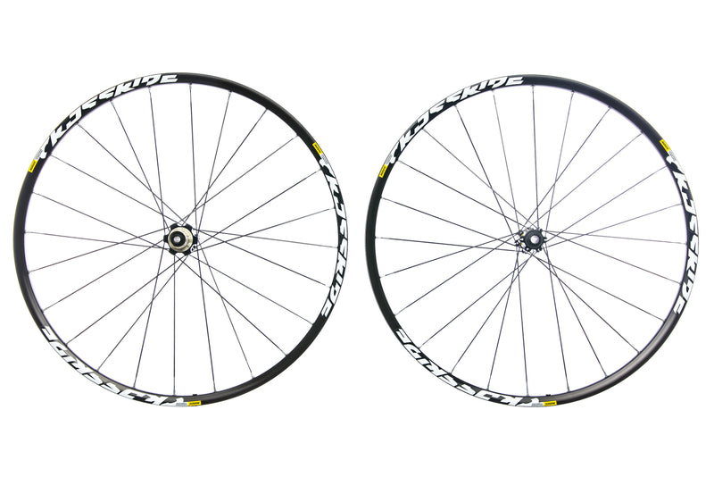 "Mavic Crossride Aluminum Tubeless 29"" Wheelset drive side"