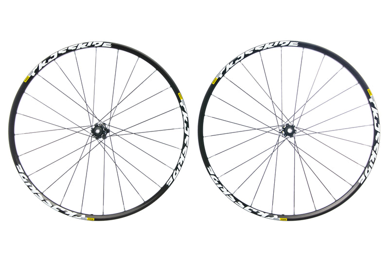 "Mavic Crossride Aluminum Tubeless 29"" Wheelset non-drive side"
