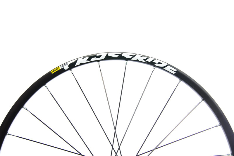 "Mavic Crossride Aluminum Tubeless 29"" Wheelset cockpit"