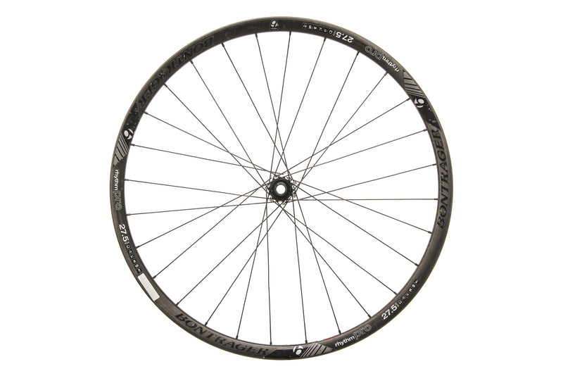 "Bontrager Rhythm Pro Carbon Tubeless 27.5"" Front Wheel drive side"