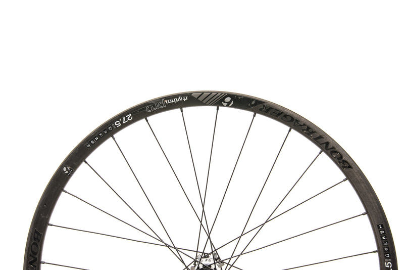 "Bontrager Rhythm Pro Carbon Tubeless 27.5"" Front Wheel front wheel"