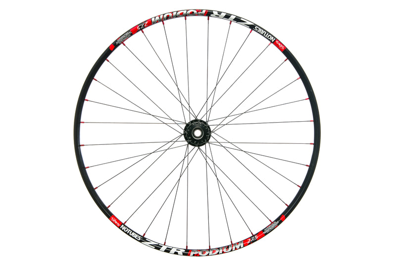 "Stan's NoTubes ZTR Podium Aluminum Tubeless 27.5"" Lefty Front Wheel drive side"