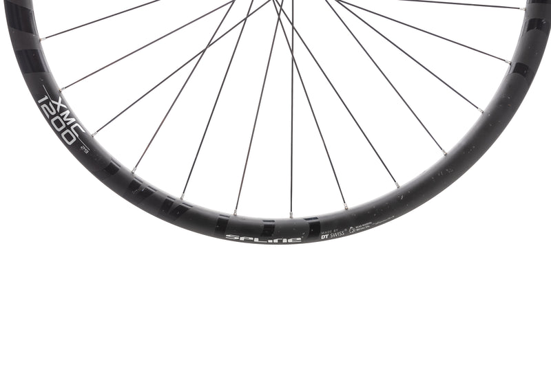 "DT Swiss XMC 1200 Spline 24 Carbon Tubeless 29"" Front Wheel cockpit"