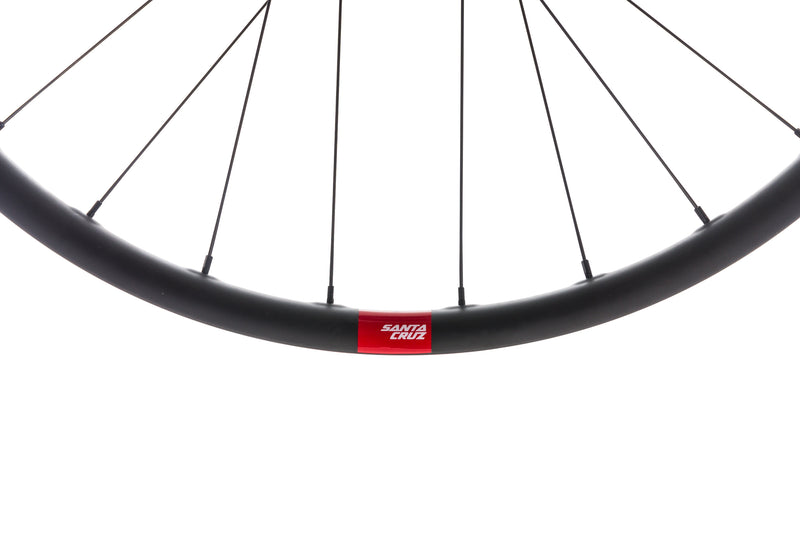 "Santa Cruz Reserve 25 Carbon Tubeless 29"" Rear Wheel front wheel"
