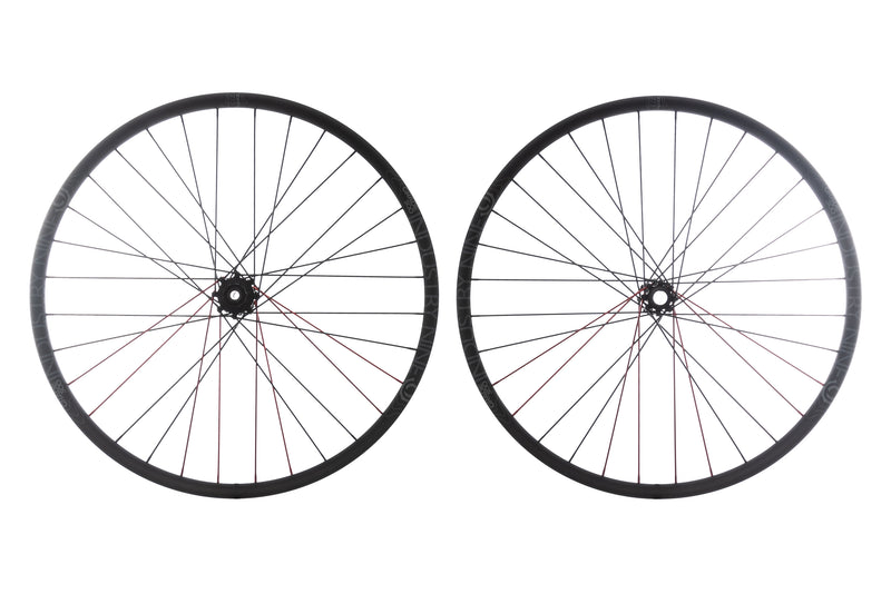 "Industry Nine Grade 300 Alloy Tubeless 27.5"" Wheelset drive side"