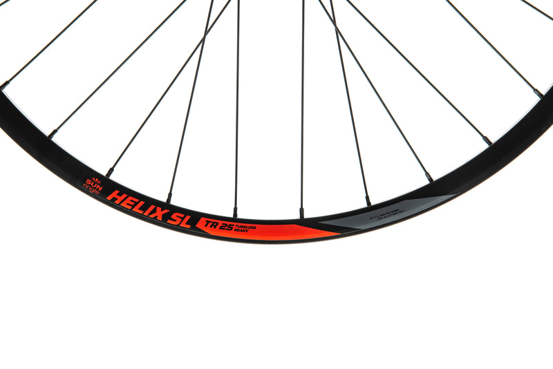 "SUNringle Helix SL TR25 Aluminum Tubeless 29"" Rear Wheel front wheel"
