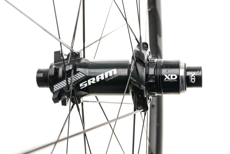 "SRAM Rise 60 Carbon Tubeless 29"" Wheelset sticker"