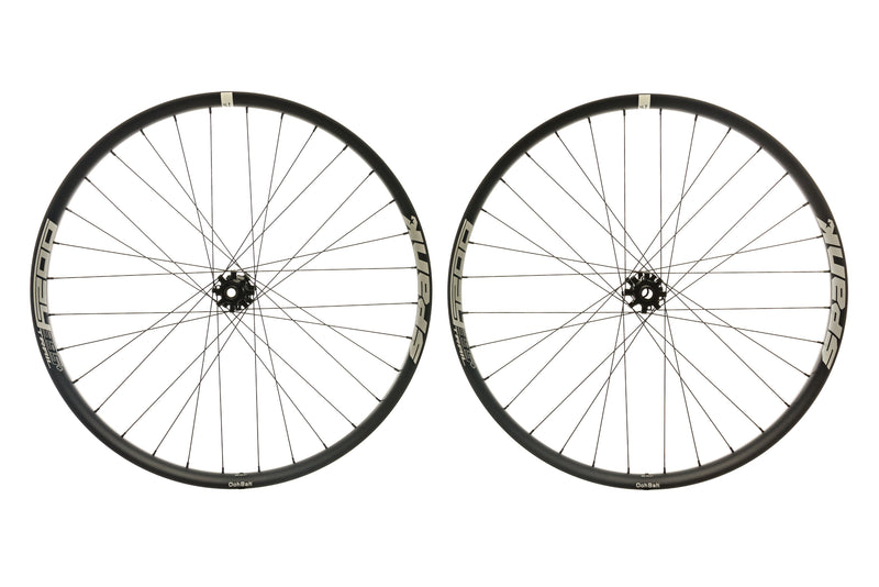 "Spank Oozy Trail 395+ Aluminum Tubeless 27.5"" Wheelset Black non-drive side"