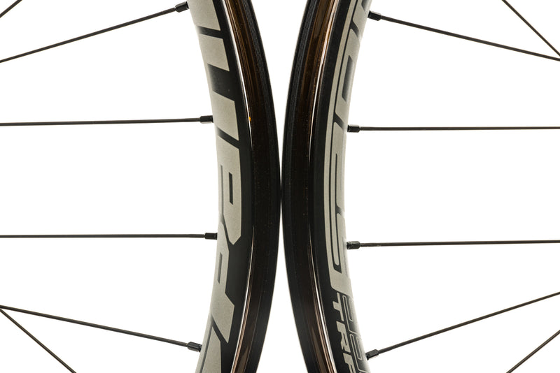 "Spank Oozy Trail 395+ Aluminum Tubeless 27.5"" Wheelset Black front wheel"