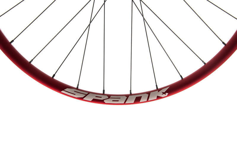 "Spank Oozy Trail 345 Aluminum Tubeless 29"" Wheelset Red crank"