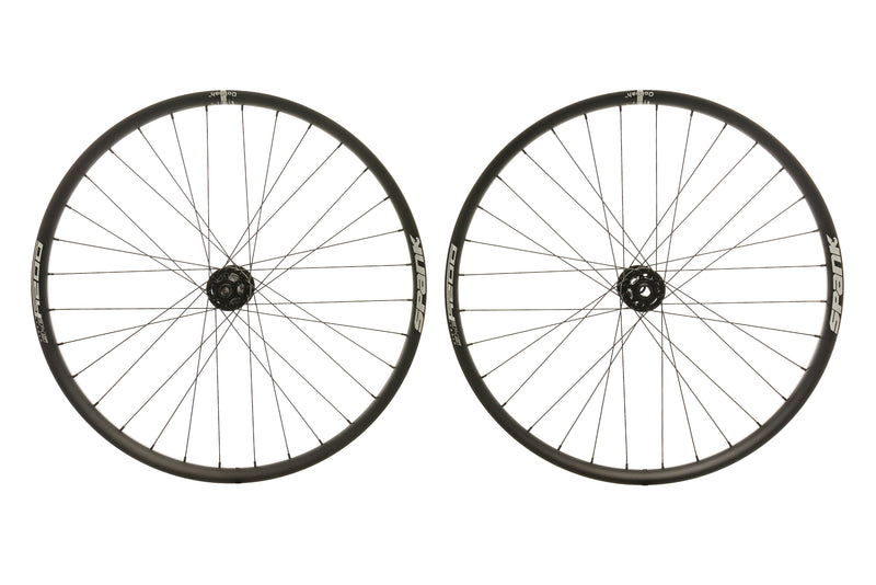 "Spank Oozy Trail 345 Aluminum Tubeless 27.5"" E-Bike Wheelset Black non-drive side"