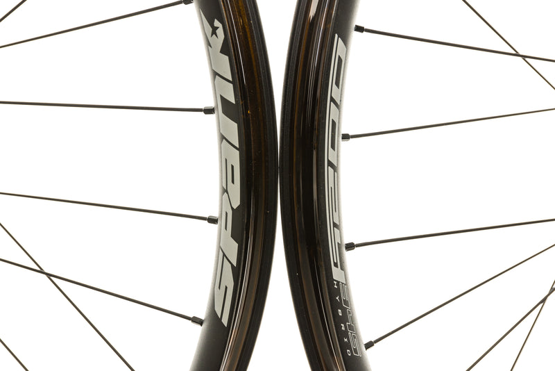"Spank Oozy Trail 345 Aluminum Tubeless 27.5"" E-Bike Wheelset Black front wheel"