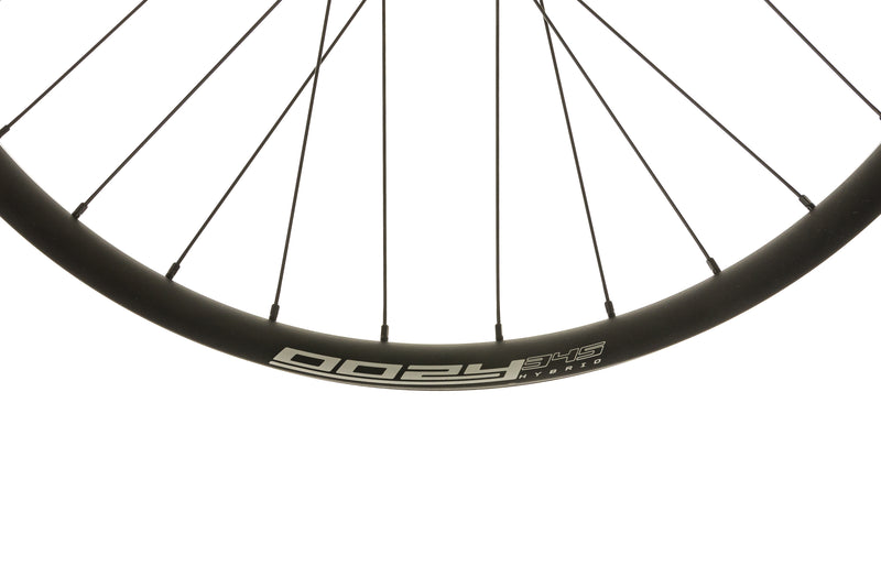 "Spank Oozy Trail 345 Aluminum Tubeless 27.5"" E-Bike Wheelset Black cockpit"