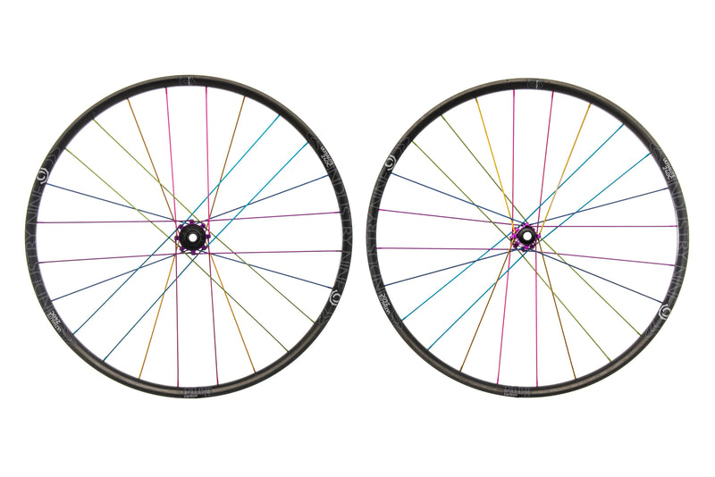 "Industry Nine Ultralite 240c Carbon Tubeless 29"" Wheelset drive side"