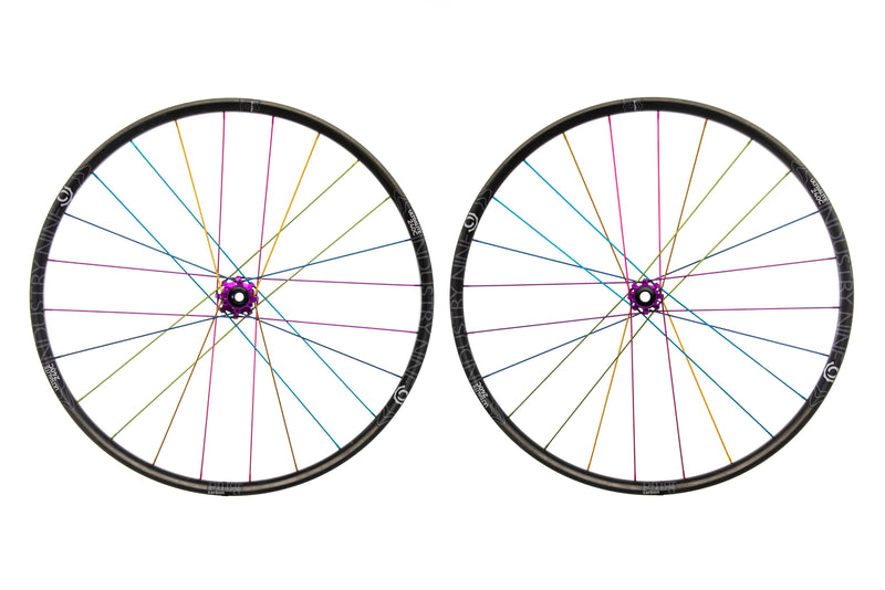 "Industry Nine Ultralite 240c Carbon Tubeless 29"" Wheelset non-drive side"