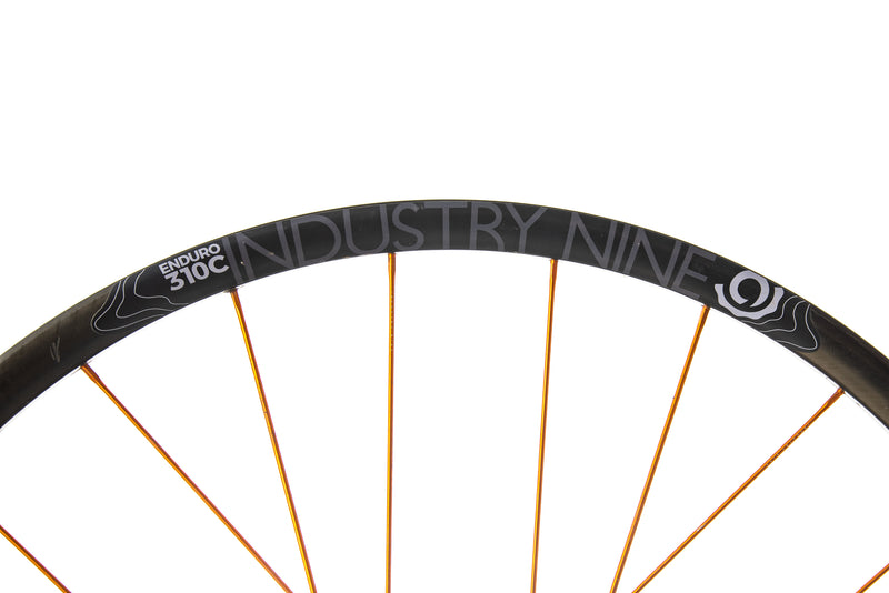 "Industry Nine Enduro 310C Carbon Tubeless 29"" Wheelset cockpit"