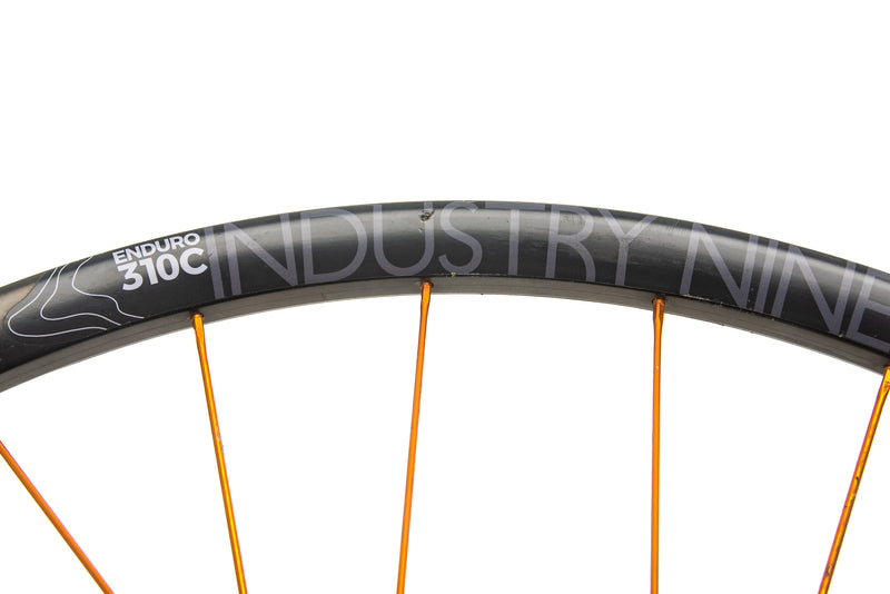 "Industry Nine Enduro 310C Carbon Tubeless 29"" Wheelset detail 1"