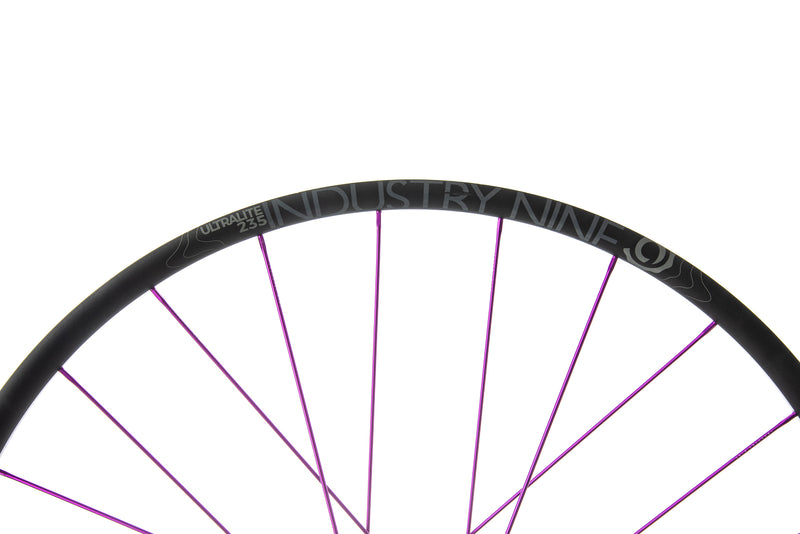 "Industry Nine Ultralite 235 Alloy Tubeless 29"" Wheelset cockpit"