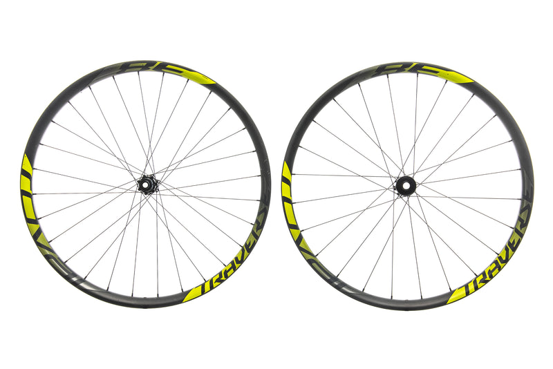 "Roval Traverse 38 Carbon Tubeless 27.5"" Wheelset drive side"