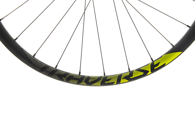 "Roval Traverse 38 Carbon Tubeless 27.5"" Wheelset crank"