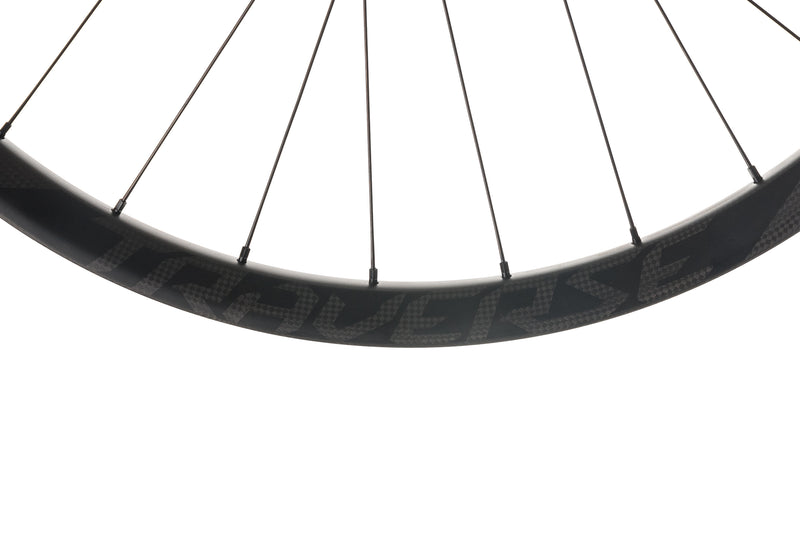 "Roval Traverse SL Fattie Carbon Tubeless 27.5"" Wheelset cockpit"