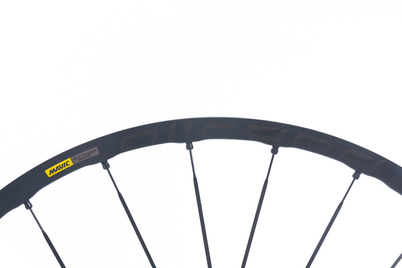 Mavic Allroad Elite UST Disc Aluminum Tubeless 700c Wheelset cockpit