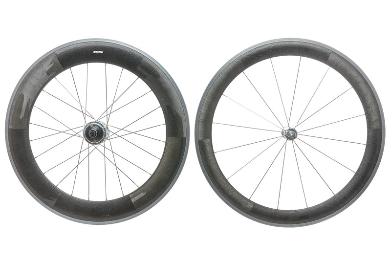 Zipp 404 / 808 CycleOps Powertap SL+ Carbon Clincher 700c Wheelset non-drive side