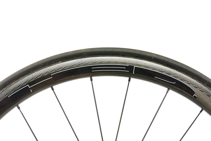HED Stinger 3 Carbon Tubular 700c Wheelset front wheel