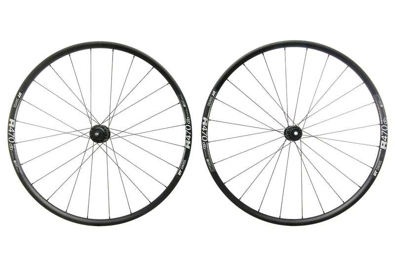 DT Swiss R470 db Aluminum 700c Wheelset drive side