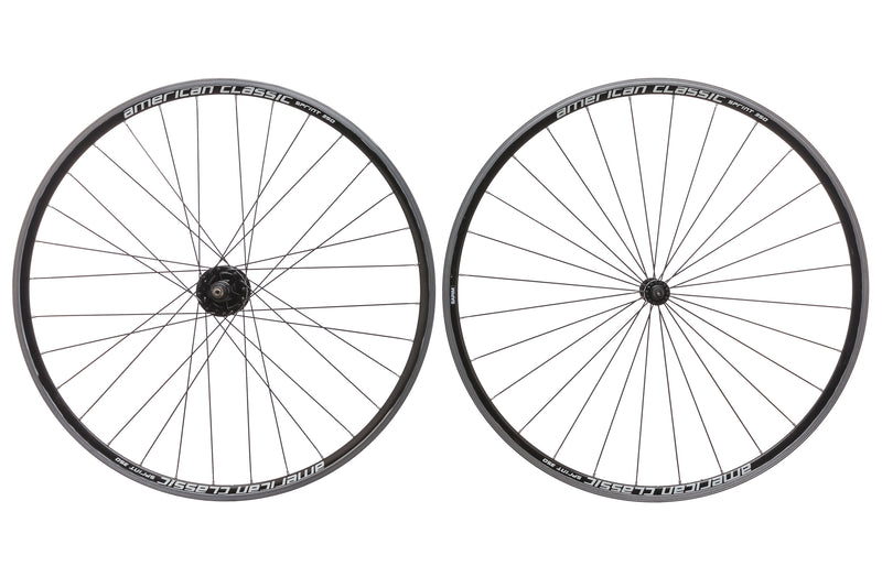 American Classic Sprint 350 Aluminum Clincher 700c Wheelset drive side