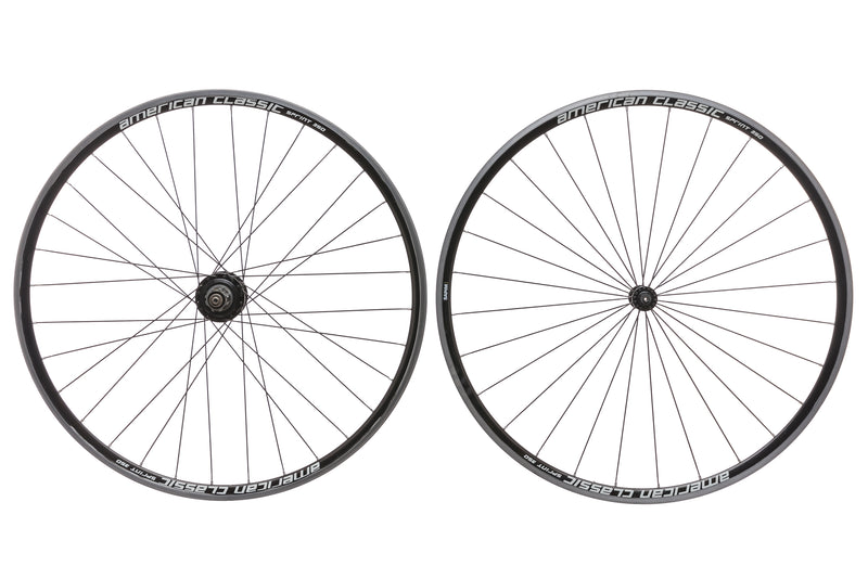 American Classic Sprint 350 Aluminum Clincher 700c Wheelset non-drive side
