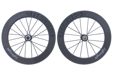Lightweight Fernweg 80 Carbon Tubular 700c Wheelset