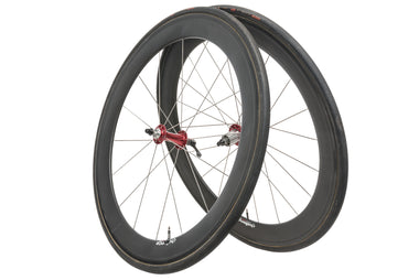 Chris King Unmarked Carbon Tubular 700c Wheelset