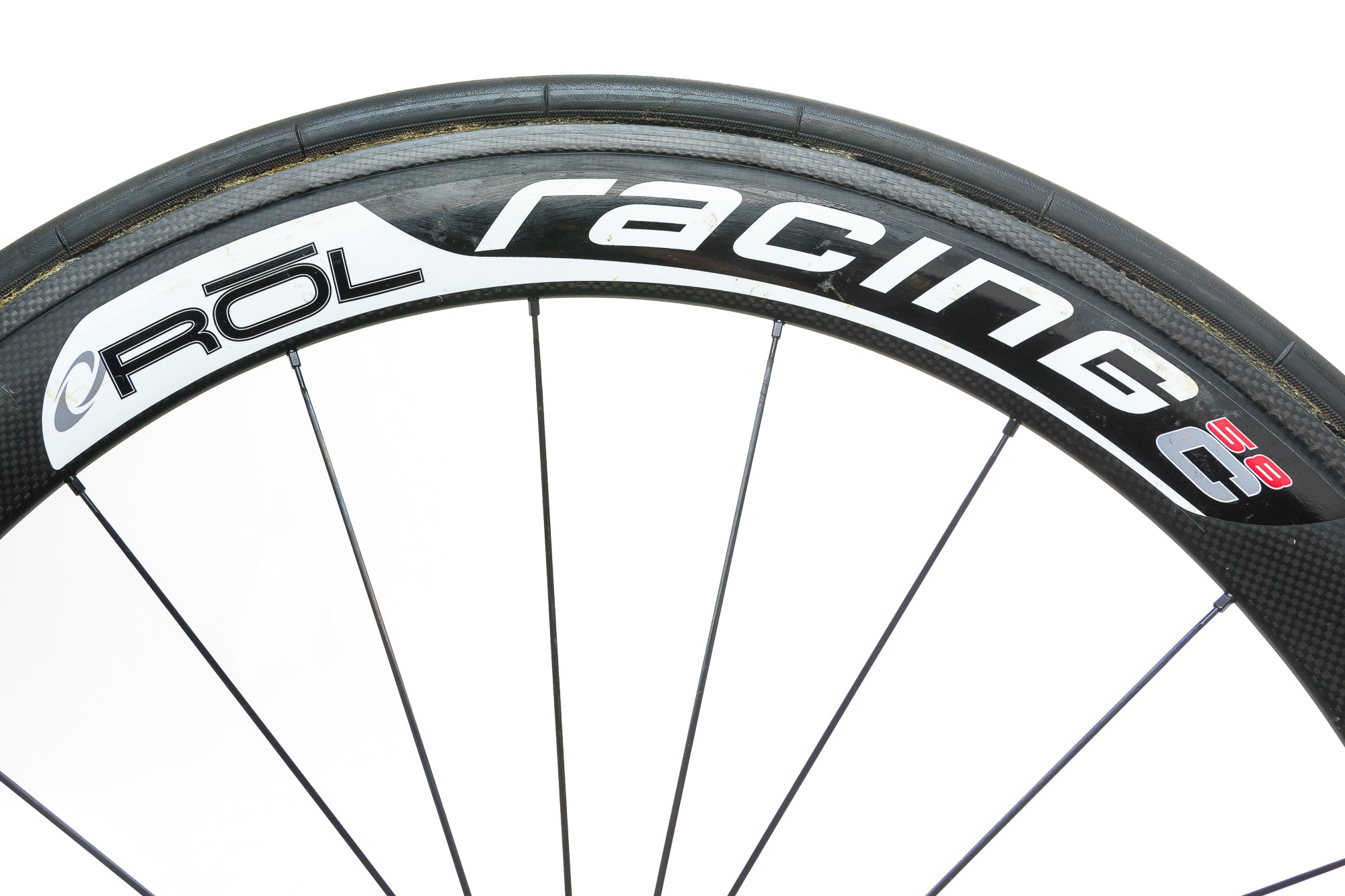 ROL Racing 58C Carbon Tubular 700c Wheelset