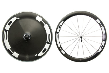 HED Stinger 5 / Jet Disc Carbon Tubular 700c Wheelset