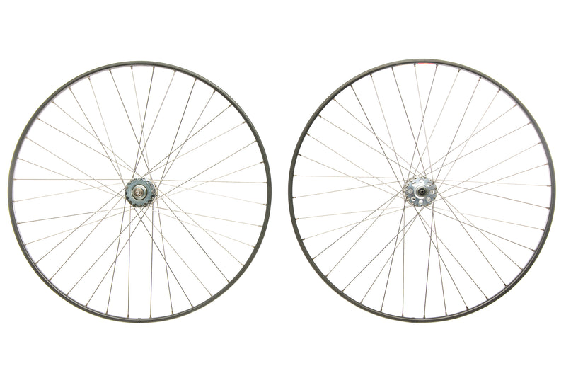 Campagnolo Gran Sport Aluminum Tubular 700c Wheelset non-drive side