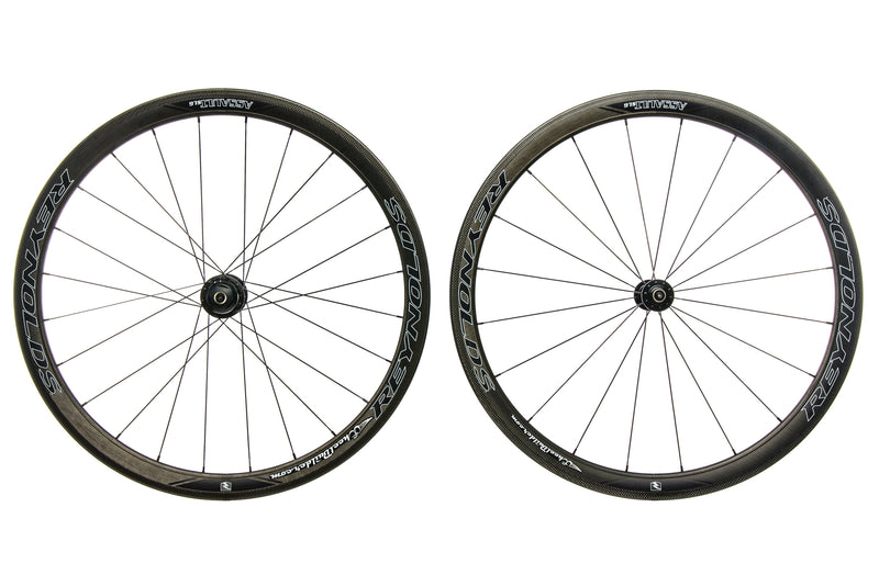 Reynolds Assault SLG Powertap G4 Carbon Clincher 700c Wheelset drive side