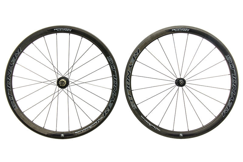 Reynolds Assault SLG Powertap G4 Carbon Clincher 700c Wheelset non-drive side