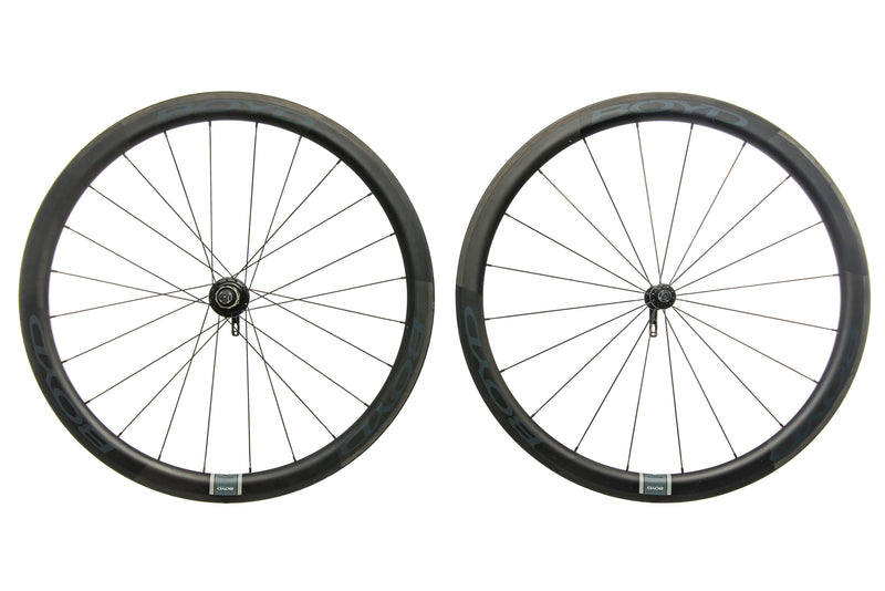 Boyd 44mm Carbon Tubular 700c Wheelset non-drive side